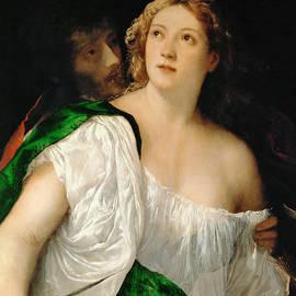 Tarquinius and Lucretia - Titian