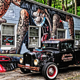 Mike Martin - Tattoo Parlor Parking