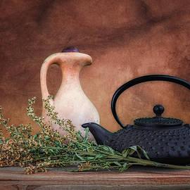 Tom Mc Nemar - Teapot with Pitcher Still Life