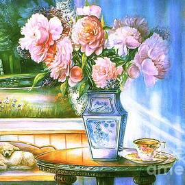 Patricia Schneider Mitchell - Teatime and Dreams