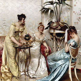Teatime Tales - Joseph Frederic Charles Soulacroix