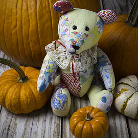 Teddy Bear And Pumpkins - Garry Gay