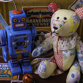 Teddy Bear And Robot - Garry Gay