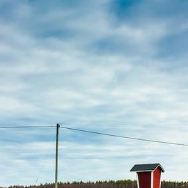 Jukka Heinovirta - Telephone Line And Milk Shelter