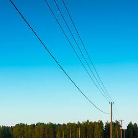 Jukka Heinovirta - Telephone Lines Leading To The Forest