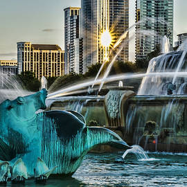 Sven Brogren - telephoto look at Chicago