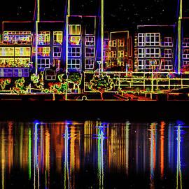 Janet Ballard - Tempe Town Lake Abstract