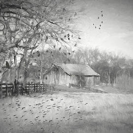 Ericamaxine Price - Tennessee Country Barn Sketch 3185