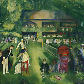 Tennis at Newport - George Bellows