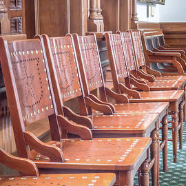 Texas Statehouse Chairs - Edward Fielding