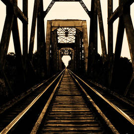 Nathan Little - Textured Bridge in Sepia