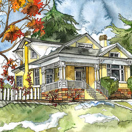 Shelley Wallace Ylst - The Autumn House