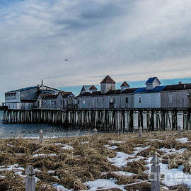JoeFarPhotos - Photographer in Maine - Thawing Out in Old Orchard Beach