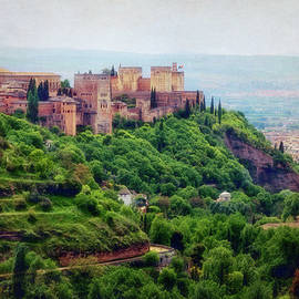 Joan Carroll - The Alhambra from Sacromonte