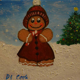 Donna Cook - The All New Gingerbread Cookie