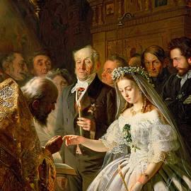 The Arranged Marriage, 1862 - Vasili Vladimirovits Pukirev