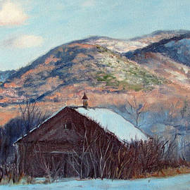 Bonnie Mason - The Barn in Winter