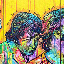 Dean Russo - The Beatles Yellow Triptych