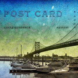 Bill Cannon - The Ben Franklin Bridge Post Card