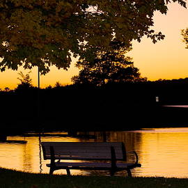 Danielle Allard - The bench by the lake
