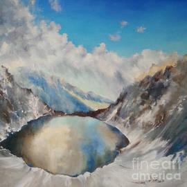 Maja Sokolowska - The Black Lake oil painting