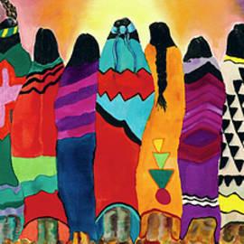 Anderson R Moore - The Blanket Dancers