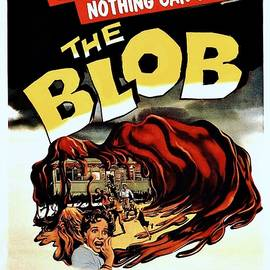 Movie Poster Prints - The Blob