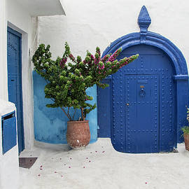 Venetia Featherstone-Witty - The Blue Door Casablanca Morocco