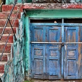 Kim Bemis - The Blue Door - India