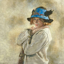 The Blue Hat - Sir William Orpen