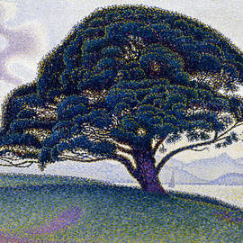 The Bonaventure Pine  - Paul Signac