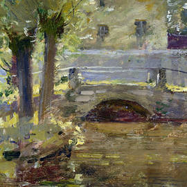 The Bridge at Giverny - Theodore Robinson