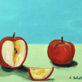 Christina Schott - The Brilliant Red Apples With Wedge