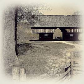 The Cantilever Barn in Cades Cove