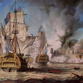 Anton Atanasov - The capture of Porto bello