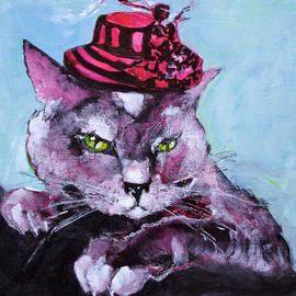 Larissa Pirogovski - The Cat which loves to wear a hat