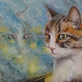 Svetlana Matevosjan Art - The Christmas cat
