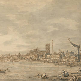 The City of Westminster from Near the York Water Gate - Canaletto