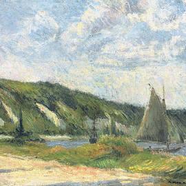 The cliffs of La Bouille - Paul Gauguin