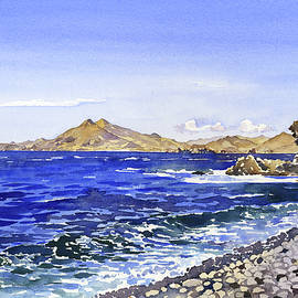 Margaret Merry - The Coast From Cala Del Carnaje