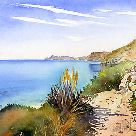 Margaret Merry - The Coast From San Pedro