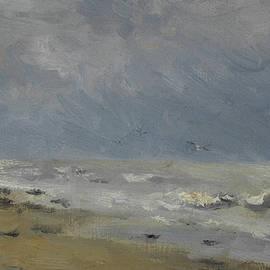 The Coast of Normandy - Stanislas Victor Edouard Lepine