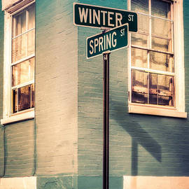 Jerry Fornarotto - The Corner of Winter and Spring