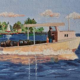 Jeannie Allerton - The Crab Fisherman Leaving Havre de Grace