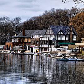 Bill Cannon - The Docks at Boathouse Row - Philadelphia