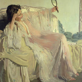The Eastern Gown - Sir William Orpen