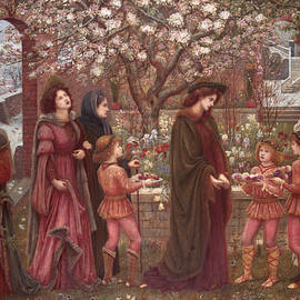 The Enchanted Garden of Messer Ansaldo - Marie Spartali Stillman