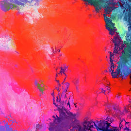 Tiberiu Soos - The Energy of Summer - Big Abstract Print Art