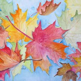 April McCarthy-Braca - The Falling Leaves