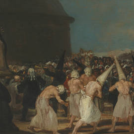 The Flagellants - Francisco Goya